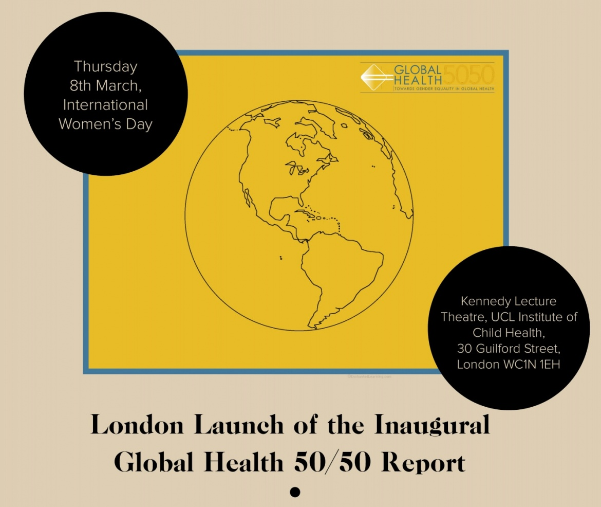 London Launch of the Inaugural Global Health 50/50 Report