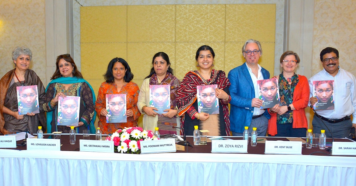 Global Health 50/50 Report hits the road with India launch