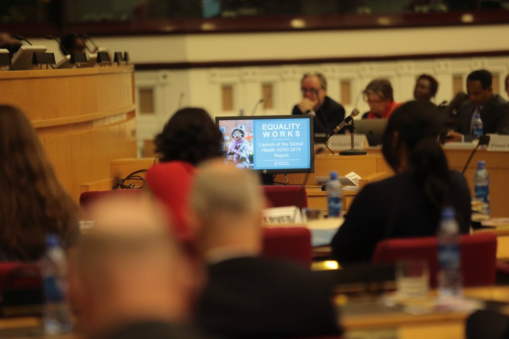 Dr Tedros Adhanom Gheybreyesus and Dr Seniat Fisseha: How gender parity improves global health