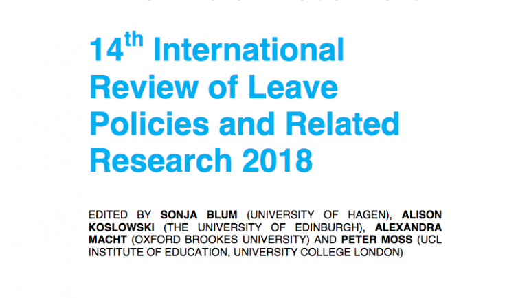 INLPR 2018 Annual Review of National Leave Policies