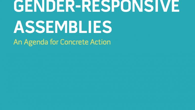 Gender-Responsive Assemblies: An agenda for concrete action