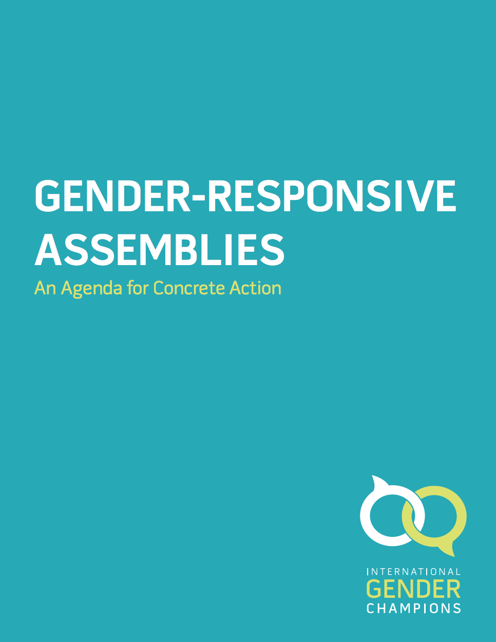 Gender-Responsive Assemblies: An agenda for concrete action