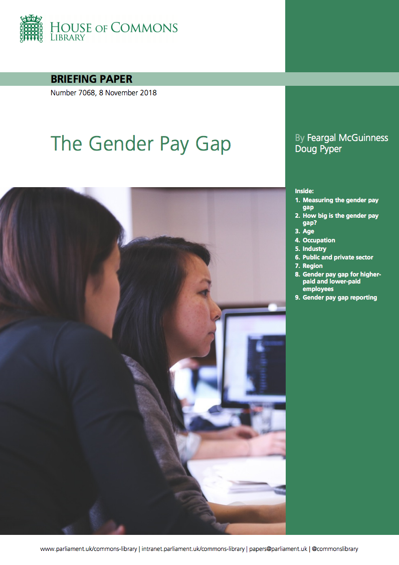 The Gender Pay Gap: Briefing Paper