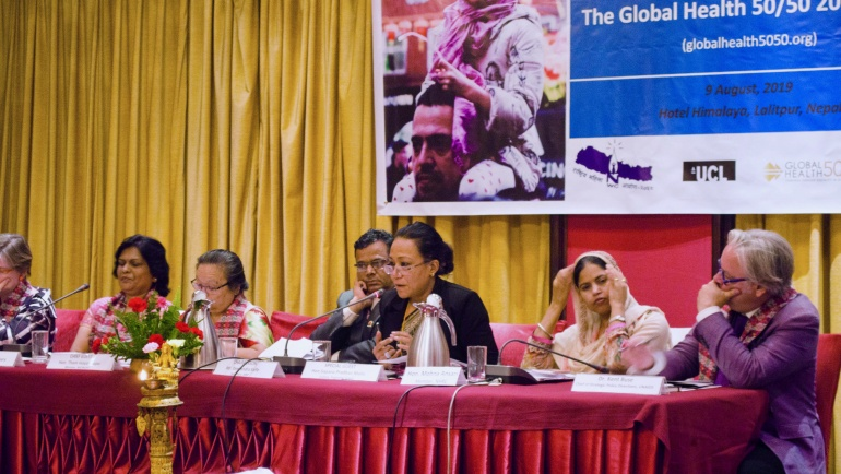 Translating the GH5050 Report into results for people: Reflections from Kathmandu