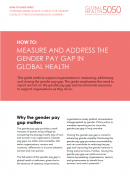 GH5050 How-To: Measure and Address the Gender Pay Gap