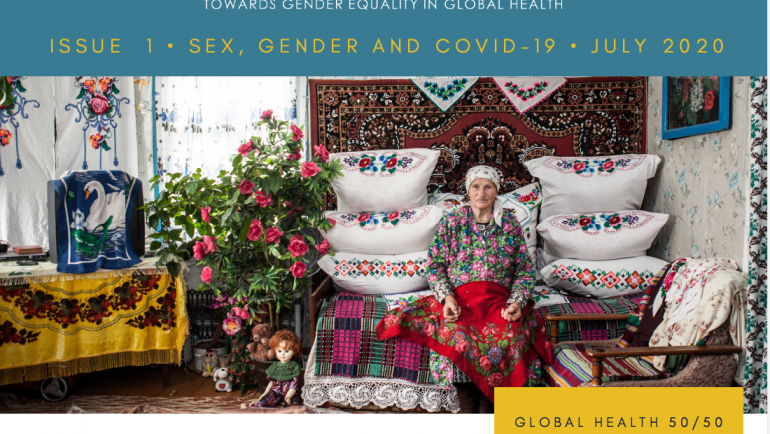 Issue 1 • Sex, Gender and COVID-19 • GH5050 Digest