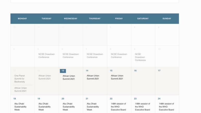 Global Health 50/50 launches the Global Health Events Calendar